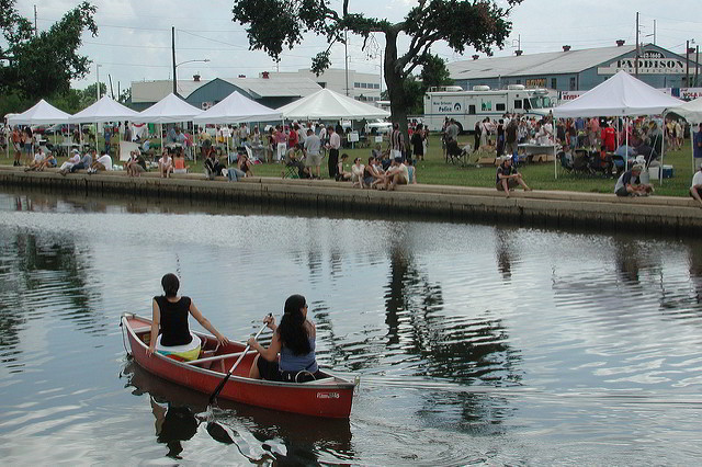 Bayou Boogaloo Music Festival takes place on the banks of Bayou St. John in New Orleans, May 20-22. (Photo courtesy Bart Everson)