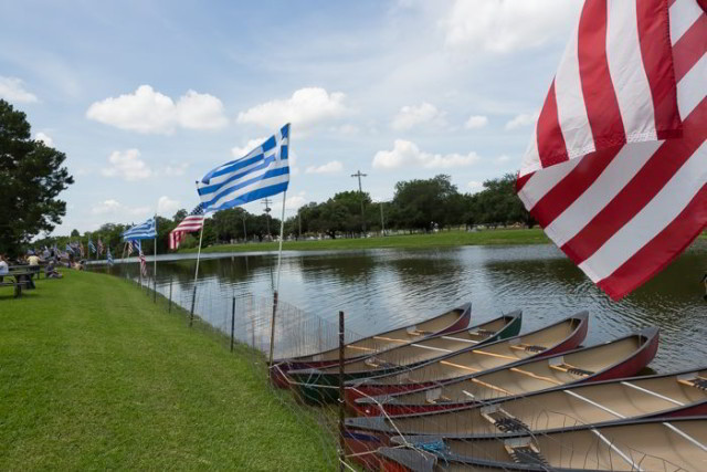 Celebrate Hellenic culture on the banks of Bayou St. John at Greek Fest. (Photo courtesy New Orleans Greek Festival on Facebook)