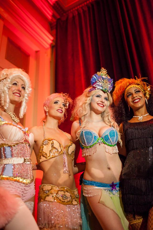 Local burlesque stars Trixie Minx & Bella Blue will perform at The Big Gateaux Show during NOWFE 2017. (Photo courtesy NOWFE)