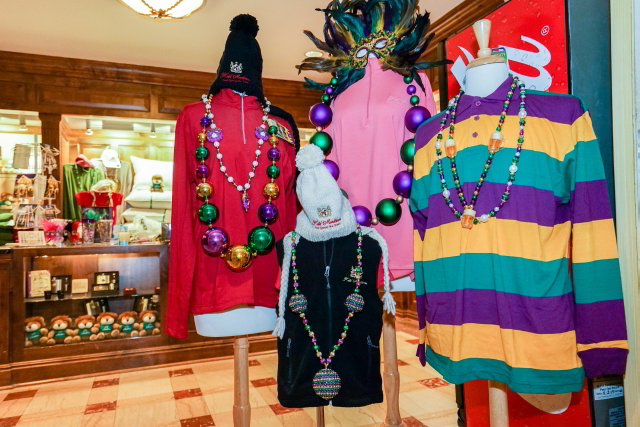 You'll find plenty of gifts for your friends back home in the Hotel Monteleone gift shop.