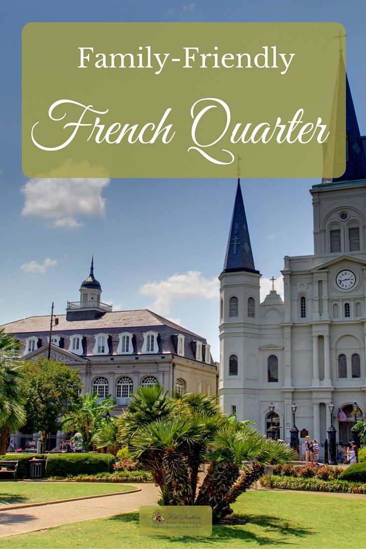 The French Quarter is brimming with family-friendly activities, just steps from Hotel Monteleone. Click through for our favorite kid-friendly things to do during your summer family vacation in New Orleans.