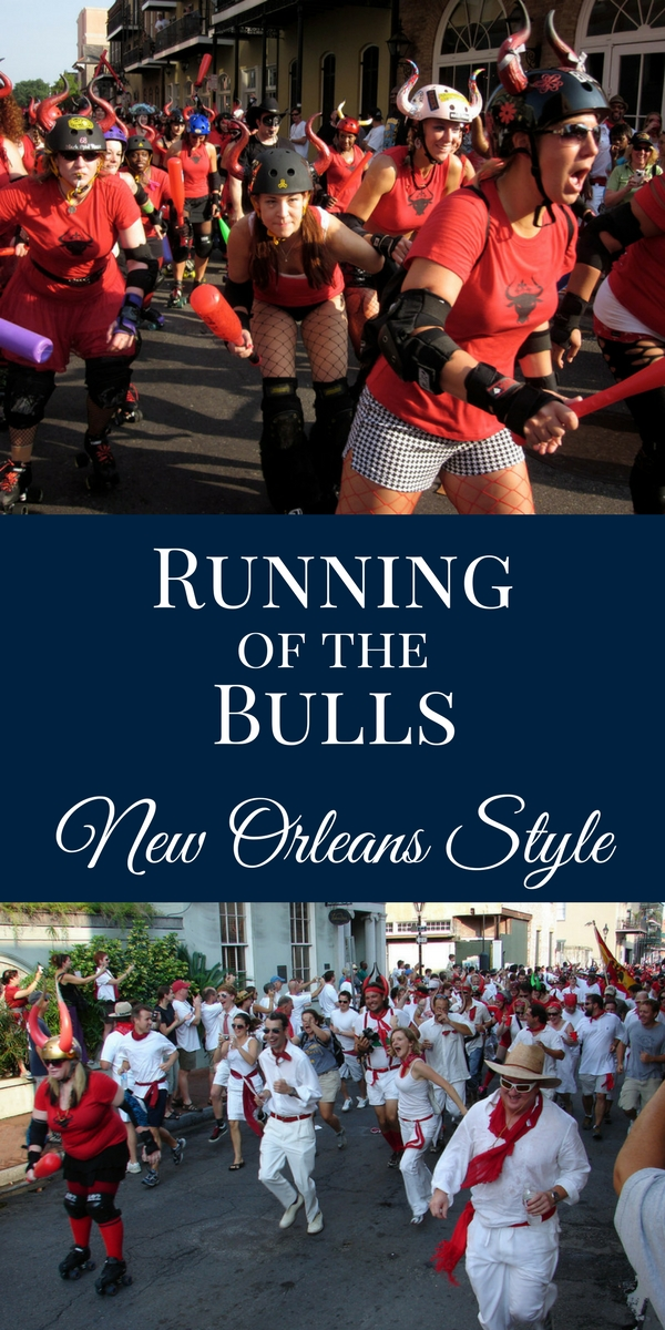 Did you know that New Orleans has its own version of the Running of the Bulls each summer? Here's what you should know...