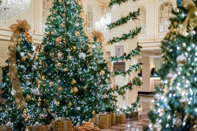 Celebrate the holidays in NEw Orleans with a holiday stay at Hotel Monteleone in the heart of the French Quarter