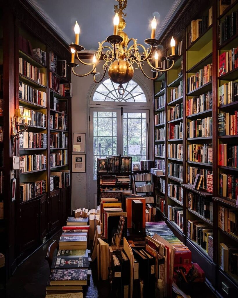 Faulkner House Books, a tucked-away local gem in the French Quarter