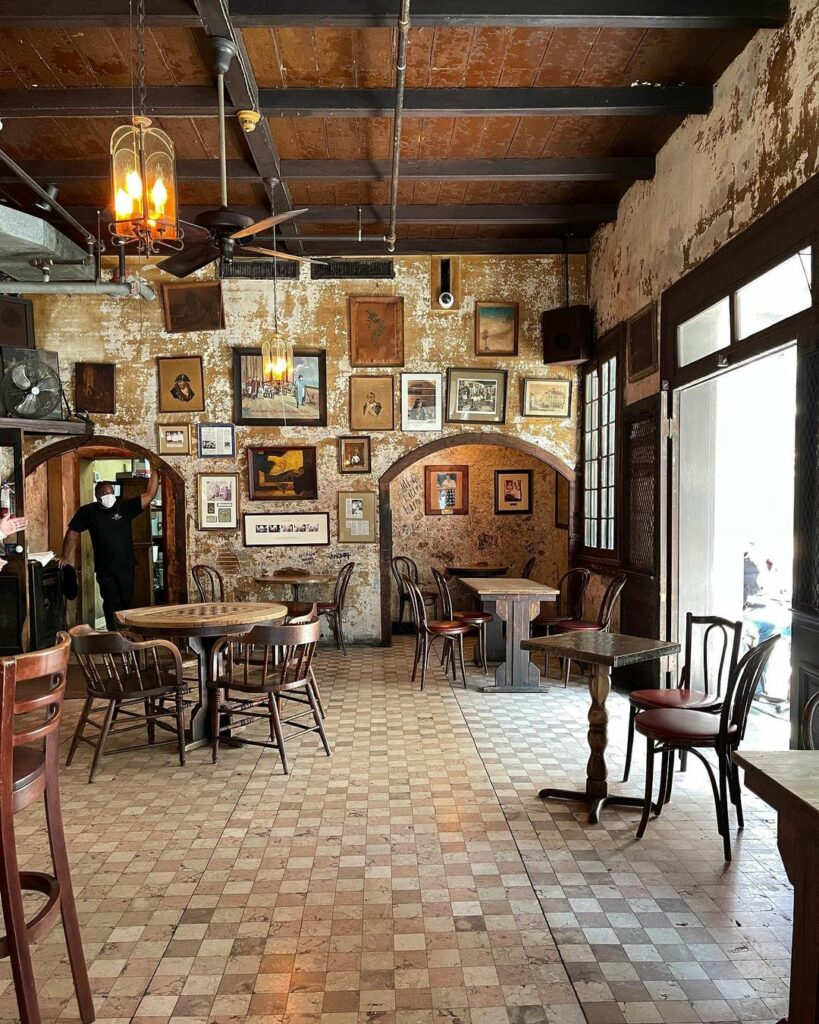 Napoleon House in the French Quarter, a historic hidden gem in New Orleans.