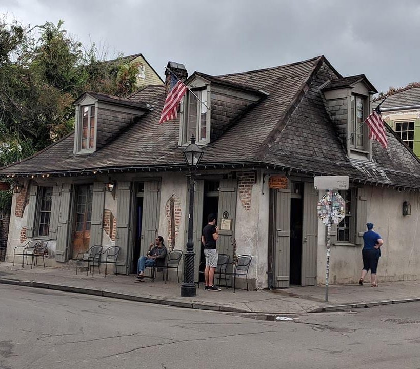 Lafitte's Blacksmith Shop, the oldest bar in America and a must-visit spot in New Orleans' French Quarter