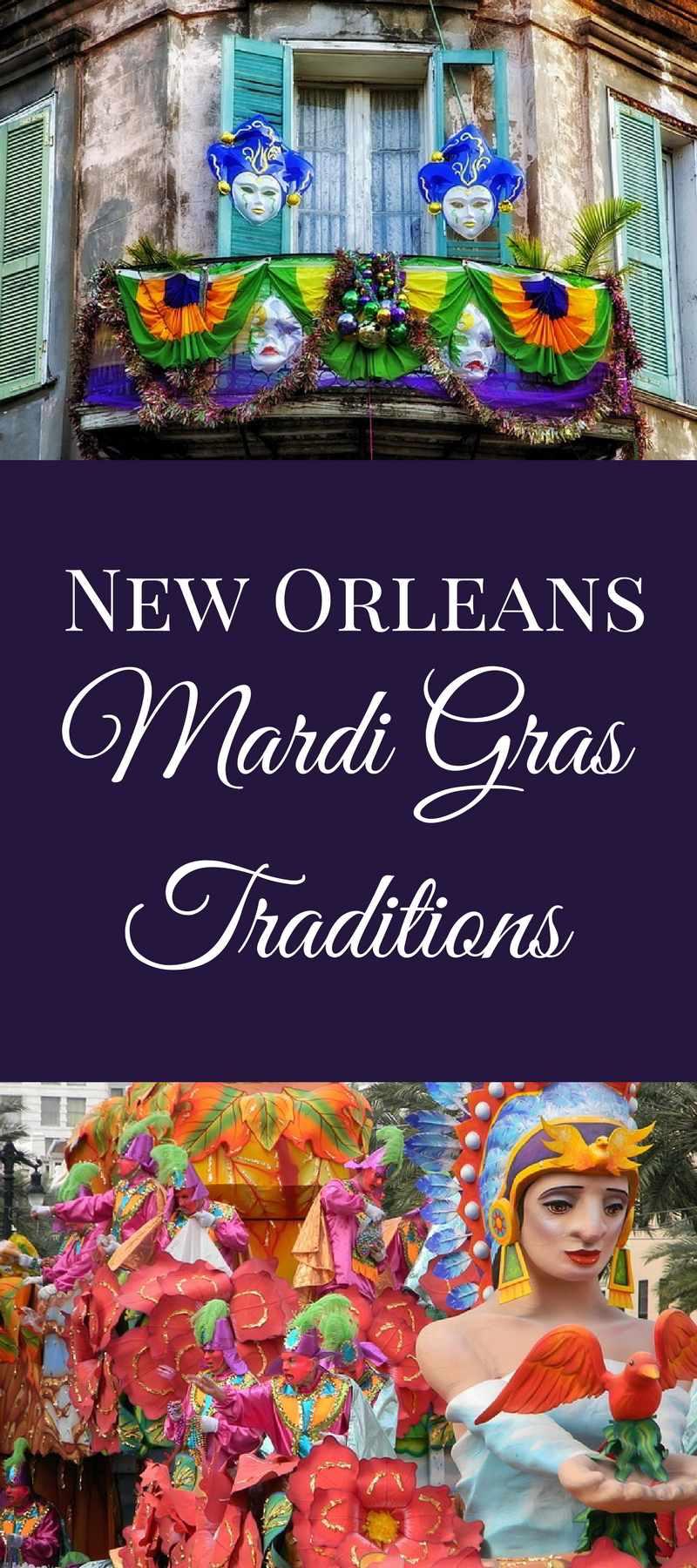 As you mark the days until Fat Tuesday, learn about some of the history of most famous New Orleans Mardi Gras traditions.