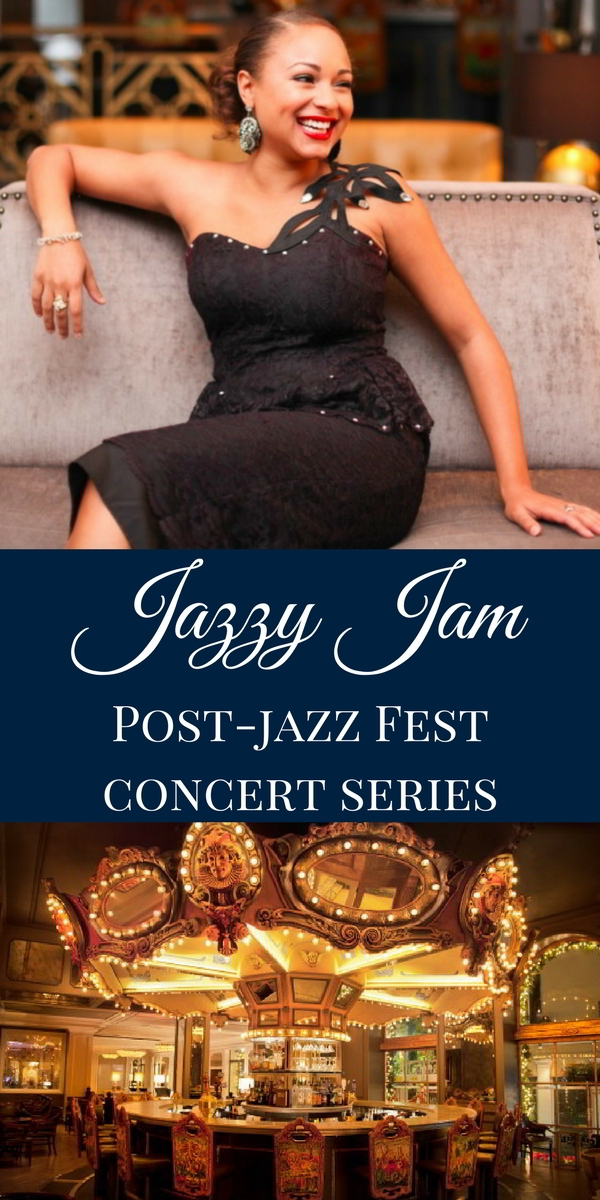 Our Jazzy Jam series, happening every night after New Orleans Jazz Fest lets you unwind in the elegant atmosphere of our Carousel Bar & Lounge.