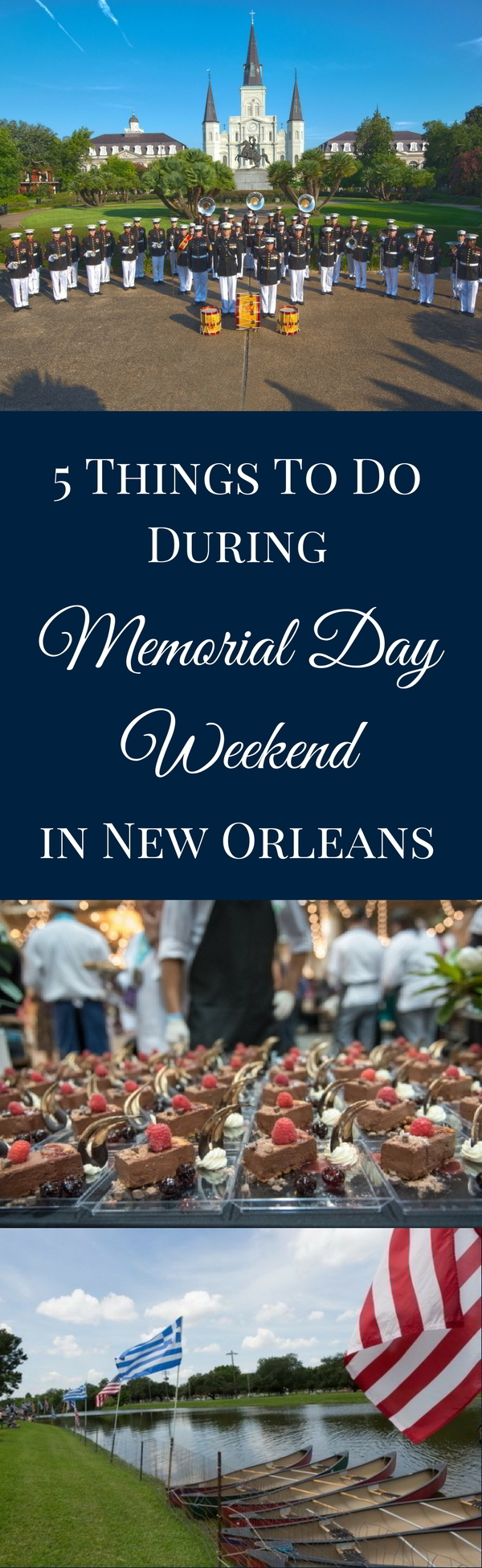 From Bayou Country SuperFest to the New Orleans Wine & Food Experience to honoring fallen soldiers at the National WWII Museum, there's plenty to do in New Orleans this Memorial Day weekend.