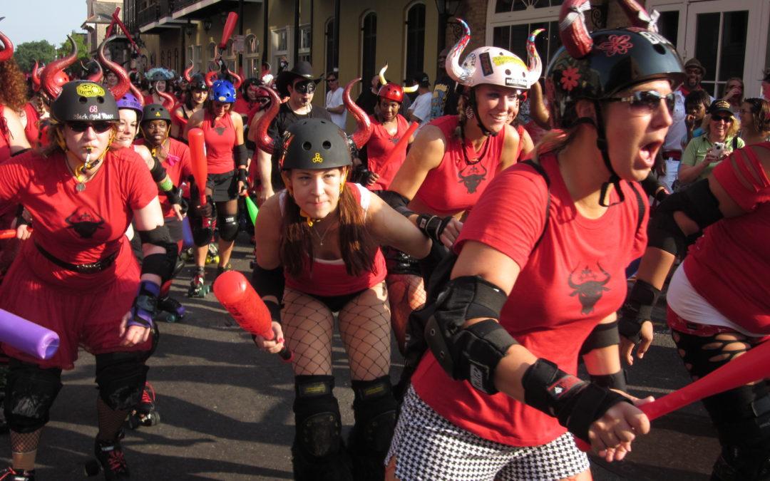 Running of the Bulls, New Orleans Style: San Fermin en Nueva Orleans