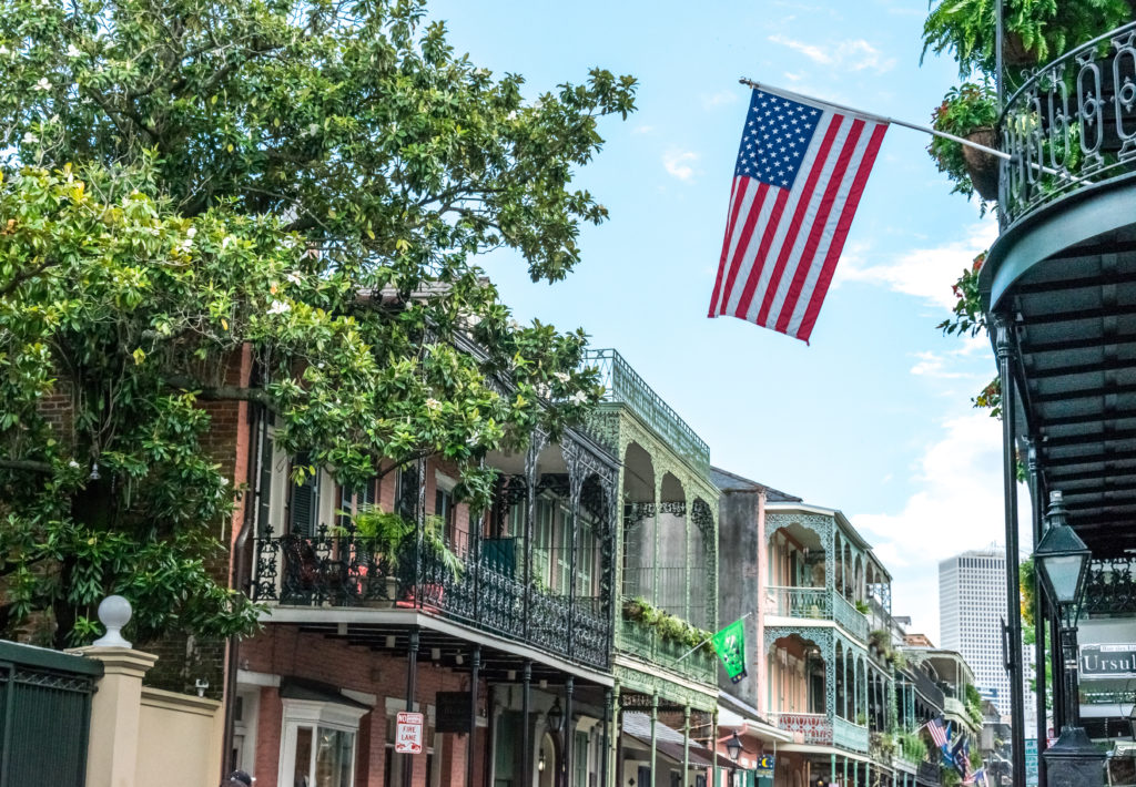 July 4th holiday weekend in New Orleans