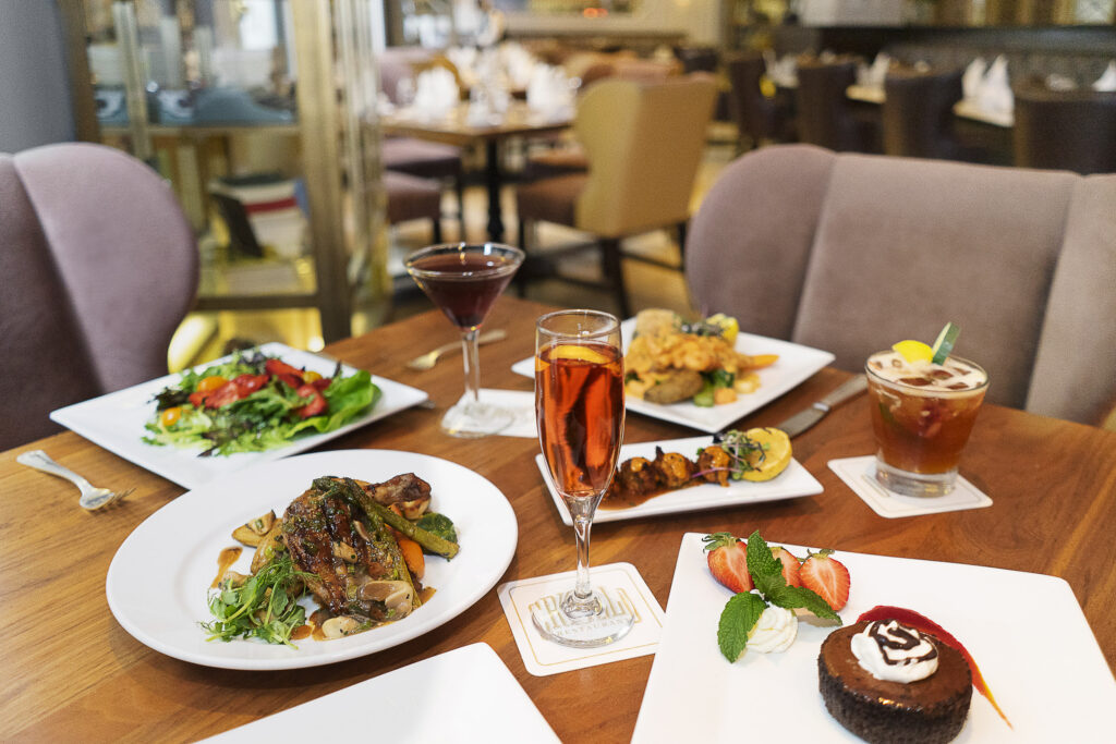 Enjoy Criollo's special COOLinary menu, available all month long this August inside Hotel Monteleone in the French Quarter