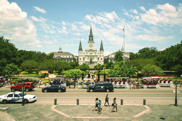Springtime in New Orleans: A French Quarter Walking Tour