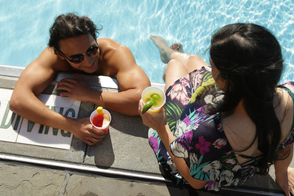 New Orleans Rooftop Pool at Hotel Monteleone, a Luxurious Summer Retreat in the Historic French Quarter