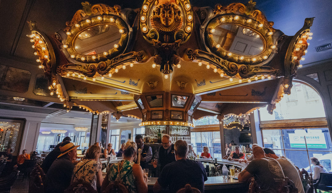 70 Years of Cocktail Culture: A Drinkable History of the Carousel Bar