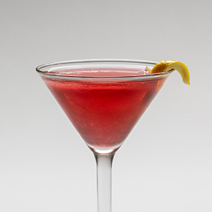 Commonly called the Cosmo for short, this cocktail filled nearly every martini glass in the 1990's. Its origins are debated, but the Carousel Bar stays true to the definitive, delicious recipe of Citrus Vodka, Cointreau, cranberry juice and a fresh squeeze of lime.