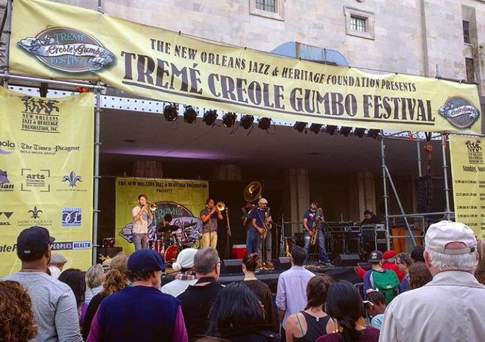 Treme Creole Gumbo Festival New Orleans