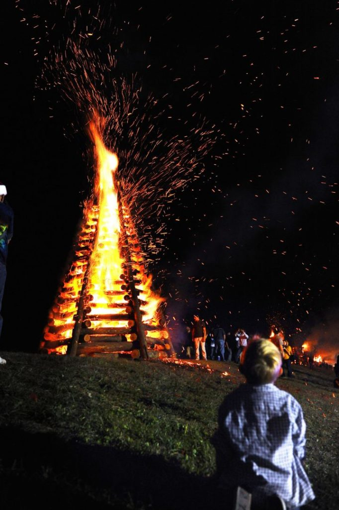 A dazzling show that only happens for the holidays in New Orleans, The Bonfires on the Levee is a brilliant event with fun for all ages