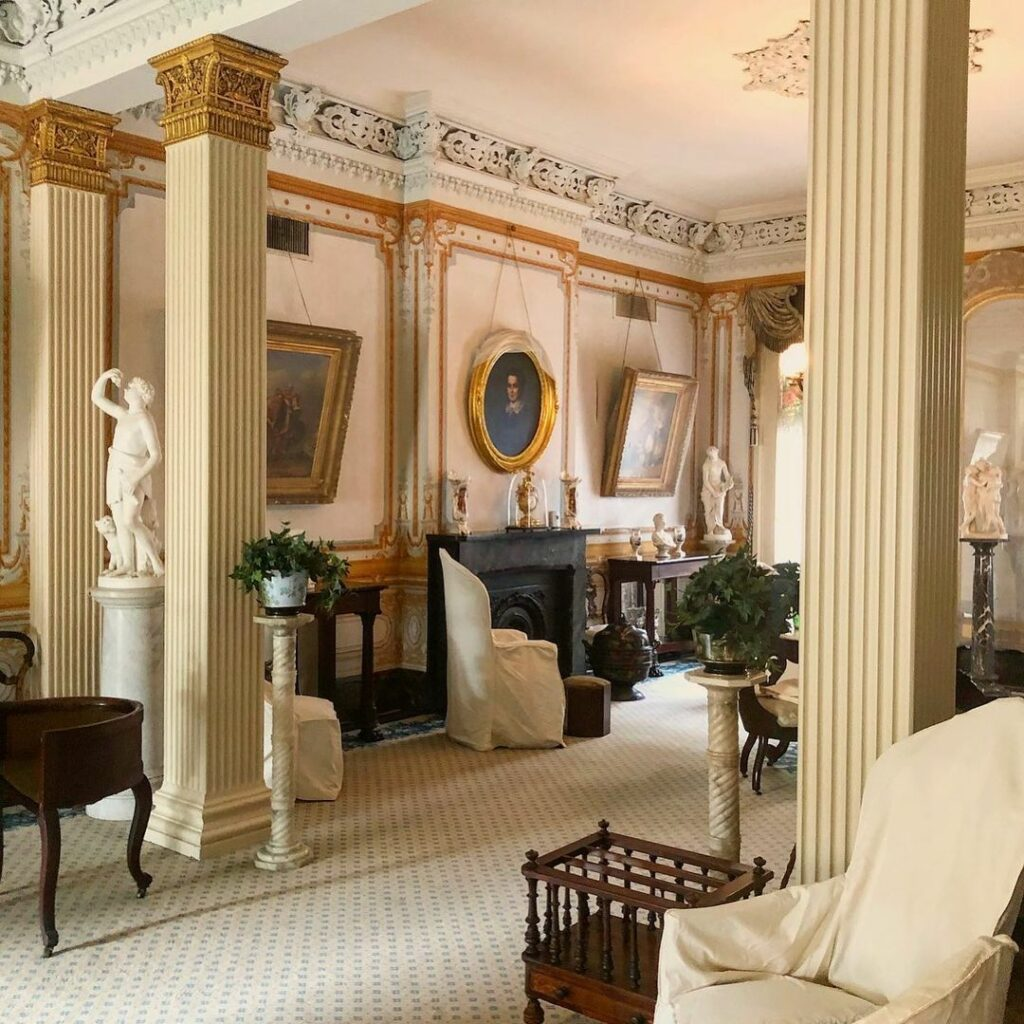 The National Historic Landmark Gallier House is a beloved architectural gem in the French Quarter.